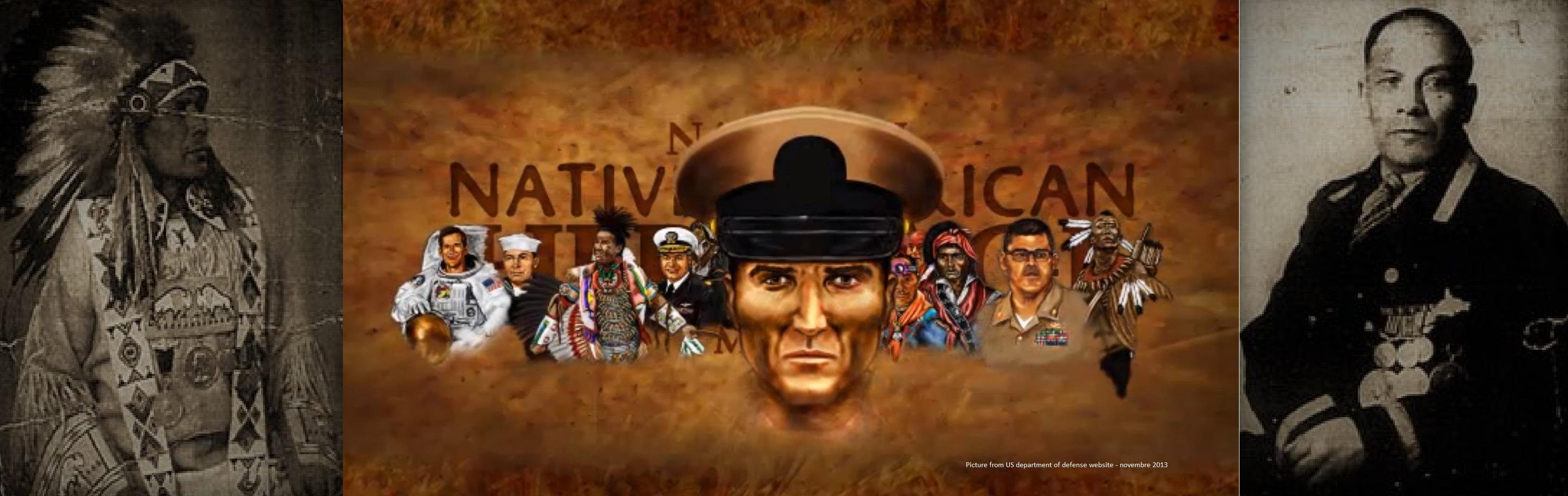 Les Anciens Combattants Amérindiens et Vétéran Autochtones Canadiens.