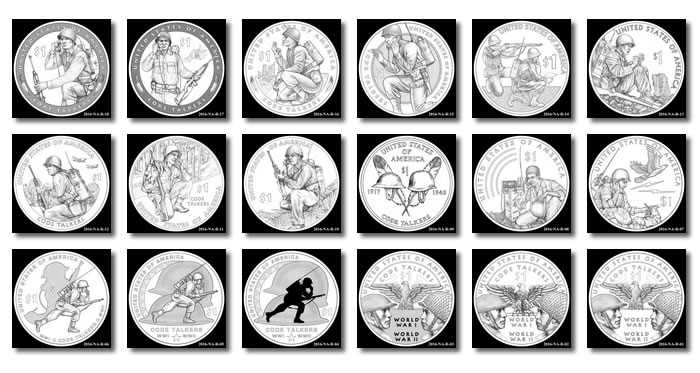 2016 native american 1 coin designs