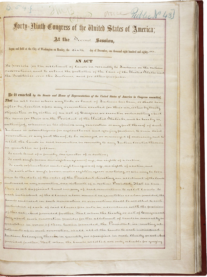 800px dawes act first page