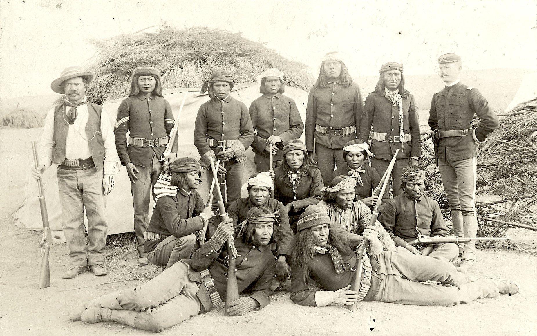Apache scout san carlos arizona 1890
