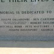Choctaw war memorial 1