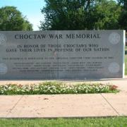Choctaw war memorial2