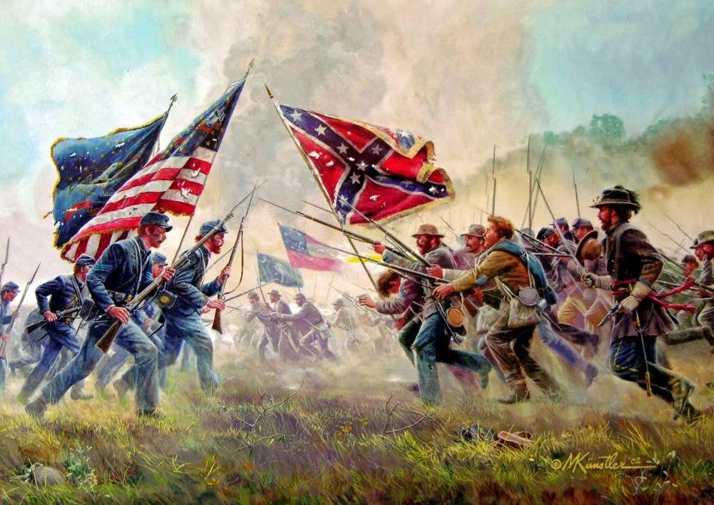 Civil war battle 2