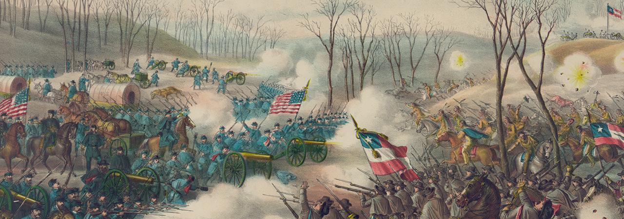 Pea ridge battle